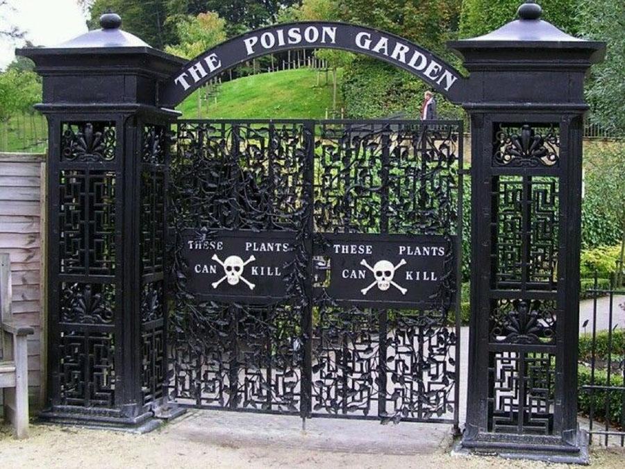 Alnwik Poison Garden